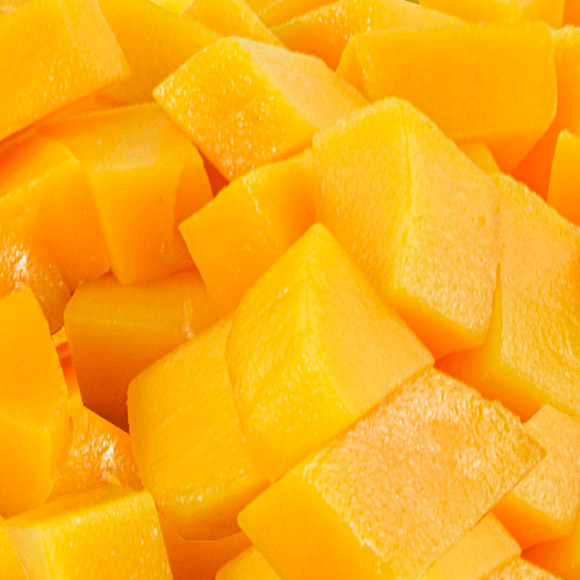 Mango kūbeliais