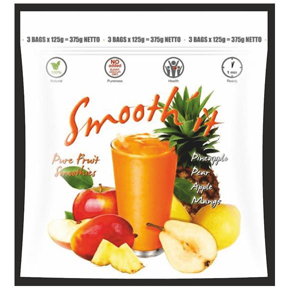 """Egzotinių vaisių kokteilis ,,Smooth'it"""""""